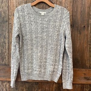 H&M, S, Gray, Soft, Crew Neck, Sweater